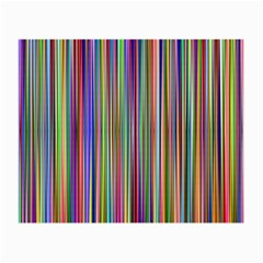 Striped Stripes Abstract Geometric Small Glasses Cloth (2-Side)