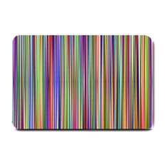 Striped Stripes Abstract Geometric Small Doormat