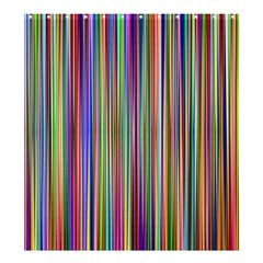 Striped Stripes Abstract Geometric Shower Curtain 66  X 72  (large)