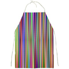 Striped Stripes Abstract Geometric Full Print Aprons