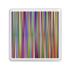 Striped Stripes Abstract Geometric Memory Card Reader (square)