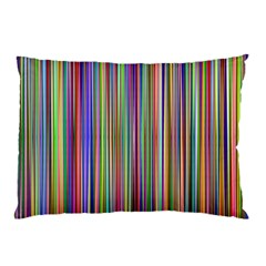 Striped Stripes Abstract Geometric Pillow Case (two Sides)