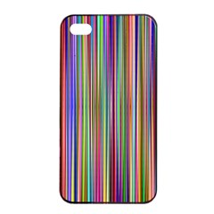 Striped Stripes Abstract Geometric Apple Iphone 4/4s Seamless Case (black)