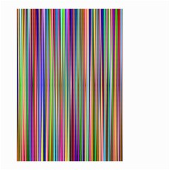 Striped Stripes Abstract Geometric Small Garden Flag (two Sides)