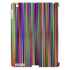 Striped Stripes Abstract Geometric Apple Ipad 3/4 Hardshell Case (compatible With Smart Cover)