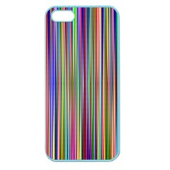 Striped Stripes Abstract Geometric Apple Seamless Iphone 5 Case (color)