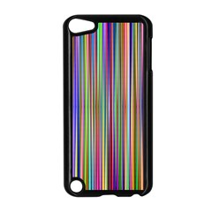 Striped Stripes Abstract Geometric Apple Ipod Touch 5 Case (black)