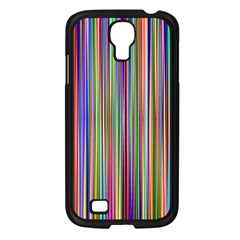 Striped Stripes Abstract Geometric Samsung Galaxy S4 I9500/ I9505 Case (black)