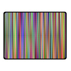 Striped Stripes Abstract Geometric Double Sided Fleece Blanket (small)
