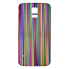 Striped Stripes Abstract Geometric Samsung Galaxy S5 Back Case (white)