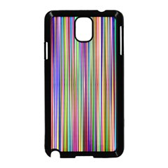Striped Stripes Abstract Geometric Samsung Galaxy Note 3 Neo Hardshell Case (black)