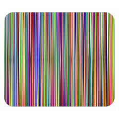 Striped Stripes Abstract Geometric Double Sided Flano Blanket (small)