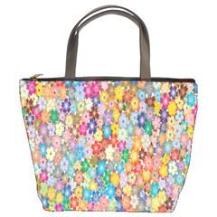Sakura Cherry Blossom Floral Bucket Bags