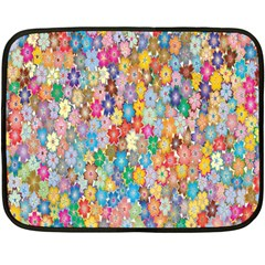 Sakura Cherry Blossom Floral Fleece Blanket (Mini)