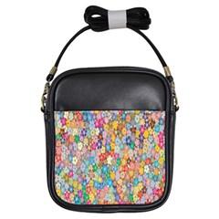 Sakura Cherry Blossom Floral Girls Sling Bags