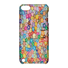 Sakura Cherry Blossom Floral Apple Ipod Touch 5 Hardshell Case With Stand