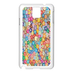 Sakura Cherry Blossom Floral Samsung Galaxy Note 3 N9005 Case (white)