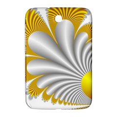 Fractal Gold Palm Tree  Samsung Galaxy Note 8 0 N5100 Hardshell Case