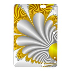 Fractal Gold Palm Tree  Kindle Fire Hdx 8 9  Hardshell Case