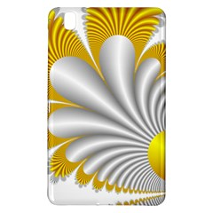 Fractal Gold Palm Tree  Samsung Galaxy Tab Pro 8 4 Hardshell Case