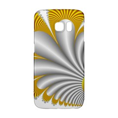 Fractal Gold Palm Tree  Galaxy S6 Edge