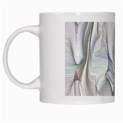 Abstract Background Chromatic White Mugs