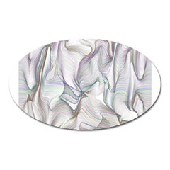 Abstract Background Chromatic Oval Magnet