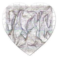Abstract Background Chromatic Jigsaw Puzzle (heart)