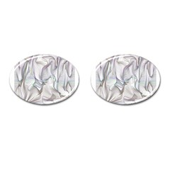 Abstract Background Chromatic Cufflinks (oval)