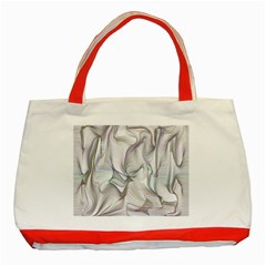 Abstract Background Chromatic Classic Tote Bag (red)