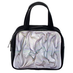 Abstract Background Chromatic Classic Handbags (one Side)
