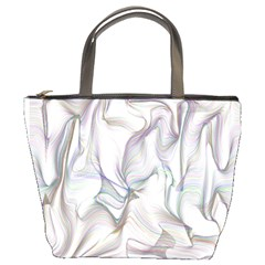Abstract Background Chromatic Bucket Bags