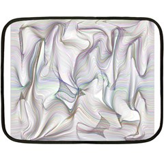 Abstract Background Chromatic Double Sided Fleece Blanket (mini)