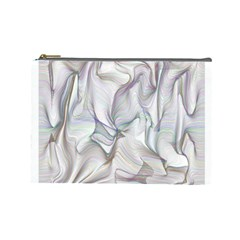 Abstract Background Chromatic Cosmetic Bag (Large)