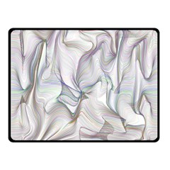 Abstract Background Chromatic Fleece Blanket (small)
