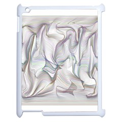 Abstract Background Chromatic Apple Ipad 2 Case (white)
