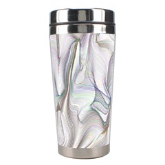 Abstract Background Chromatic Stainless Steel Travel Tumblers