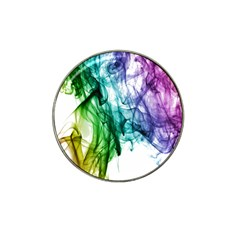 Colour Smoke Rainbow Color Design Hat Clip Ball Marker (4 pack)