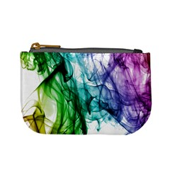 Colour Smoke Rainbow Color Design Mini Coin Purses