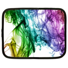Colour Smoke Rainbow Color Design Netbook Case (xl)