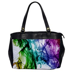 Colour Smoke Rainbow Color Design Office Handbags