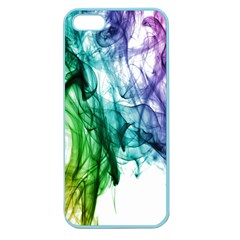 Colour Smoke Rainbow Color Design Apple Seamless Iphone 5 Case (color)