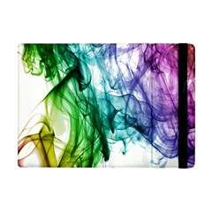 Colour Smoke Rainbow Color Design Apple Ipad Mini Flip Case