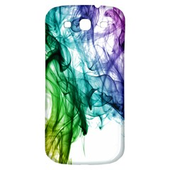 Colour Smoke Rainbow Color Design Samsung Galaxy S3 S Iii Classic Hardshell Back Case