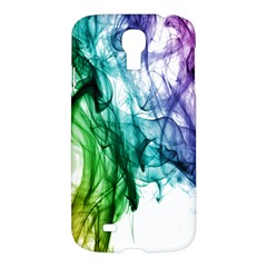 Colour Smoke Rainbow Color Design Samsung Galaxy S4 I9500/i9505 Hardshell Case