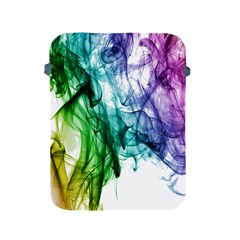 Colour Smoke Rainbow Color Design Apple Ipad 2/3/4 Protective Soft Cases