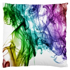 Colour Smoke Rainbow Color Design Standard Flano Cushion Case (two Sides)