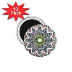Decorative Ornamental Design 1 75  Magnets (10 Pack)
