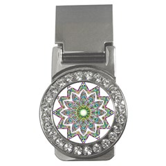 Decorative Ornamental Design Money Clips (cz)