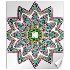 Decorative Ornamental Design Canvas 8  x 10